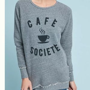 Sol Angeles Cafe Society Graphic Pullover